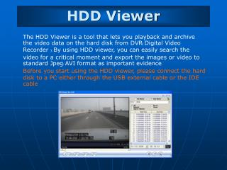 HDD Viewer