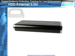 HDD External 3.5in