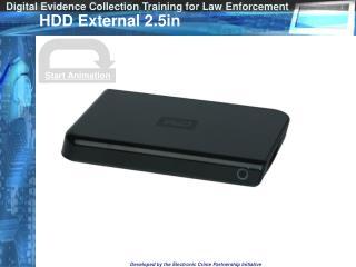 HDD External 2.5in