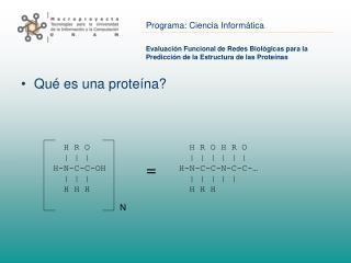 Evaluación Funcional de Redes Biológicas para la Predicción de la Estructura de las Proteínas