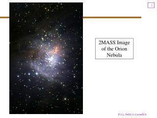 2MASS Image of the Orion Nebula