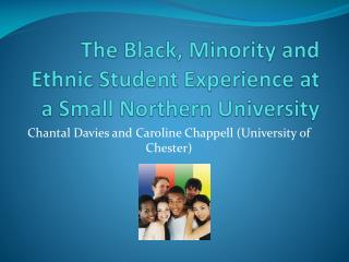The Black, Minority and Ethnic Student Experience at a Small Northern University
