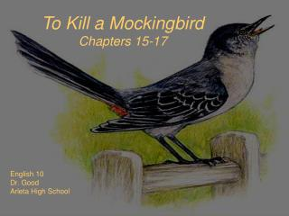 To Kill a Mockingbird Chapters 15-17