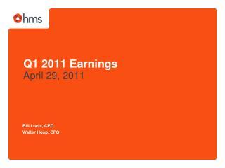 Q1 2011 Earnings