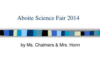 Aboite Science Fair 2014