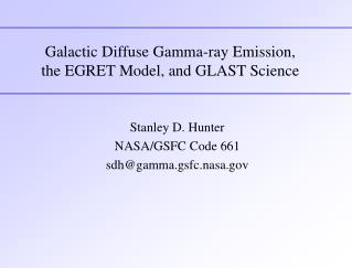 Galactic Diffuse Gamma-ray Emission, the EGRET Model, and GLAST Science