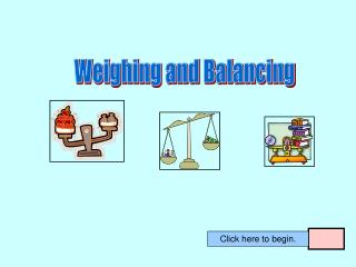 Weighing and Balancing