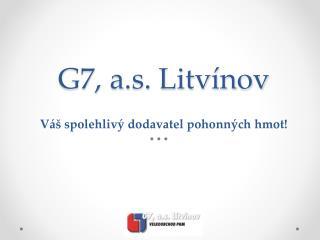 G7, a.s. Litvínov