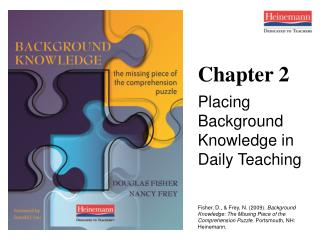Chapter 2 Placing Background Knowledge in Daily Teaching