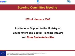 Steering Committee Meeting
