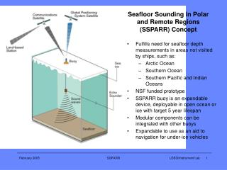 Seafloor Sounding in Polar and Remote Regions (SSPARR) Concept