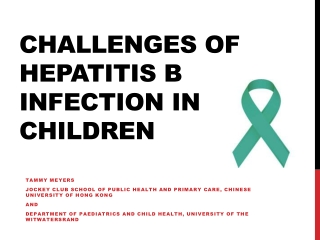Hepatitis B Virus: