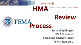 HMA 											   Review  Process