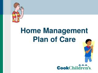Home Management Plan of Care