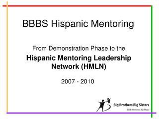BBBS Hispanic Mentoring