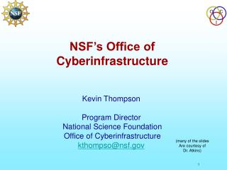 NSF s Office of Cyberinfrastructure