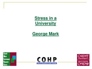 Stress in a University George Mark