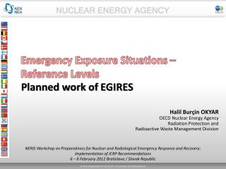 Emergency Exposure Situations – Reference Levels  Planned work of  EGIRES