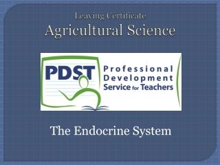 Endocrine Glands - Secretion  Action of Hormones