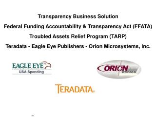 Agency Financial Management Systems Accounting – Asset Management - Procurement – Budget - FAADS