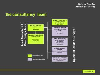 the consultancy  team