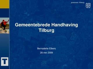 Gemeentebrede Handhaving Tilburg