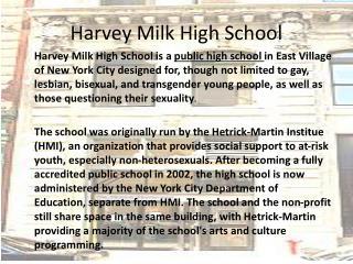 Harvey Milk High School
