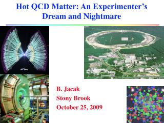Hot QCD Matter: An Experimenter's Dream and Nightmare