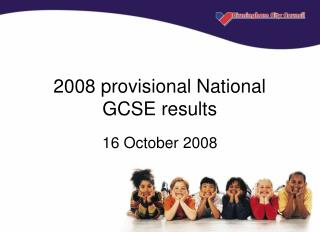 2008 provisional National GCSE results