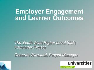 Employer Engagement and Learner Outcomes