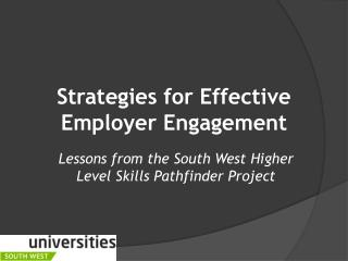 Strategies for Effective Employer Engagement