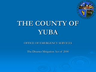 THE COUNTY OF YUBA