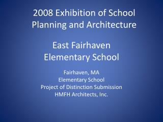 East Fairhaven Elementary School