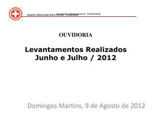 Domingos Martins, 9 de Agosto de 2012