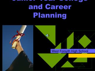 Junior Year College and Career Planning