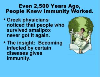 Even 2,500 Years Ago,  People Knew Immunity Worked.