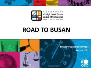 ROAD TO BUSAN