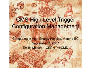 CMS High Level Trigger Configuration Management