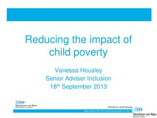 Reducing the impact of child poverty