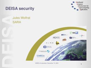 DEISA security