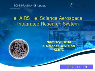 e-AIRS : e-Science Aerospace Integrated Research System