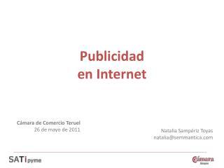P ublicidad  en Internet