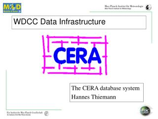 WDCC Data Infrastructure