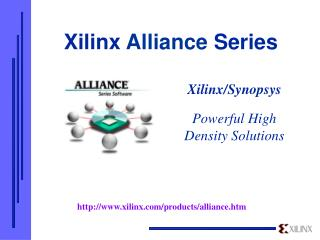 Xilinx  Alliance  Series