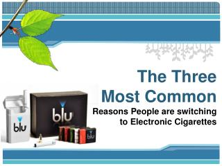 3 Reasons to Use a Blu Cigs Coupon