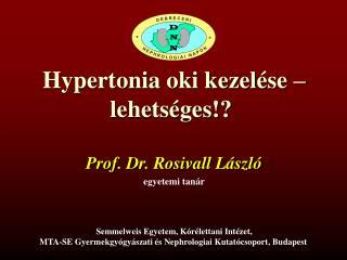 Hypertonia oki kezelése – lehetséges!?