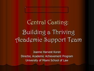 Central Casting: