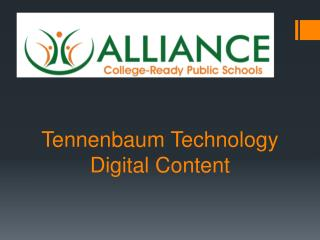 Tennenbaum  Technology Digital Content