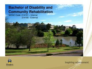 Why Study the BDCR at Flinders?