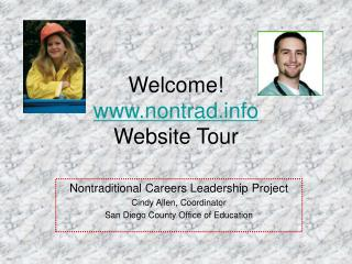 Welcome nontrad Website Tour
